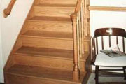 RED OAK HARDWOOD FLOOR STAIRS - Seattle
