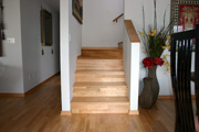 Hardwood Flooring on Stairs - Seattle