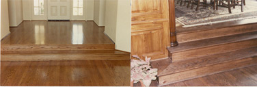 OAK HARDWOOD FLOORS AND STEPS 4 - Seattle