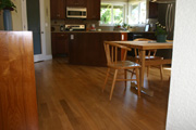 White Oak Hardwood Flooring and Steps 2 - Seattle